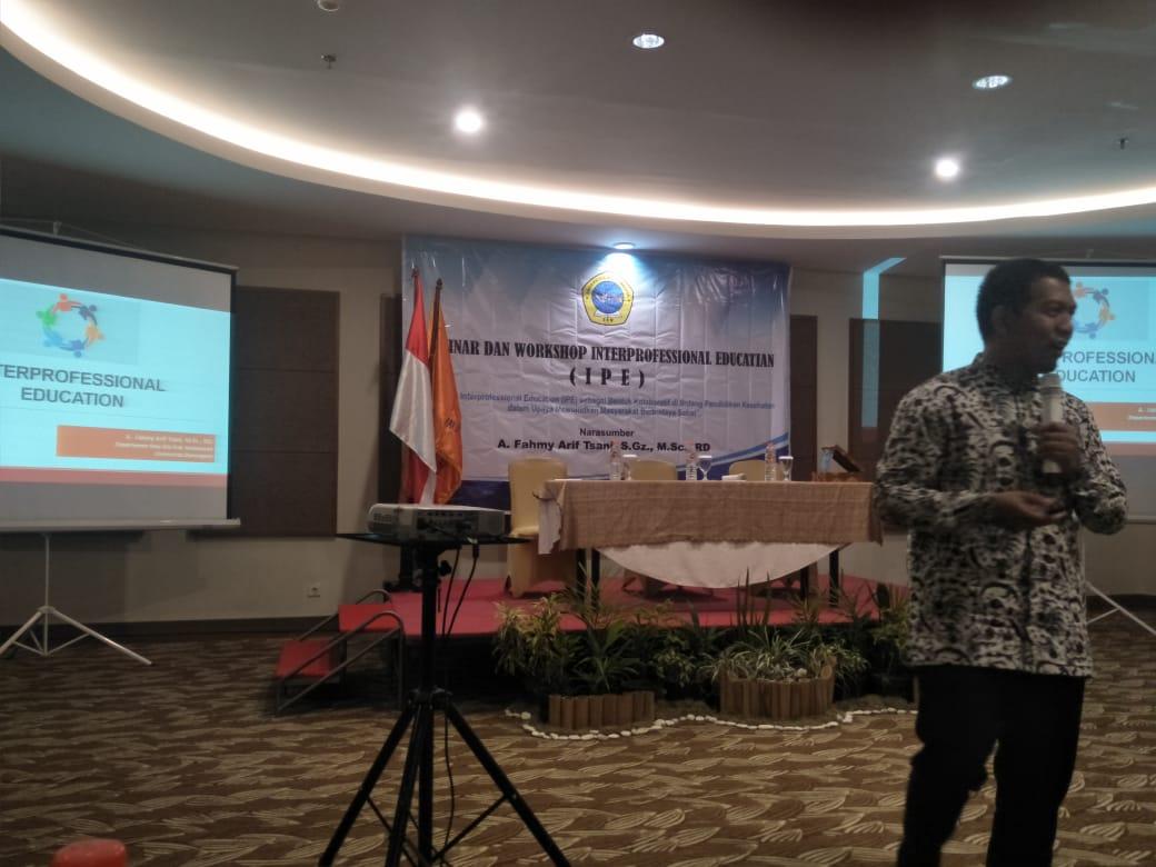Seminar dan Workshop Interprofessional Edwcatian (I P E)