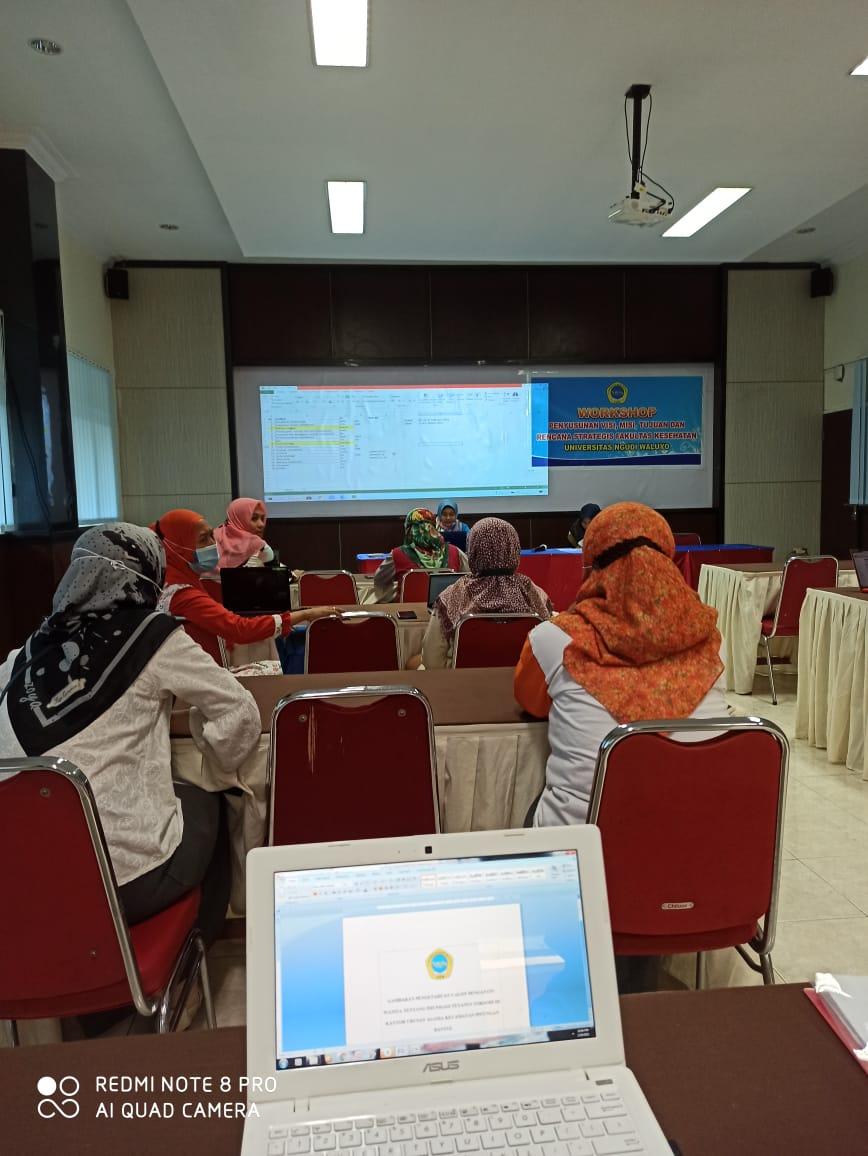 Workshop Penyusunan Visi Misi